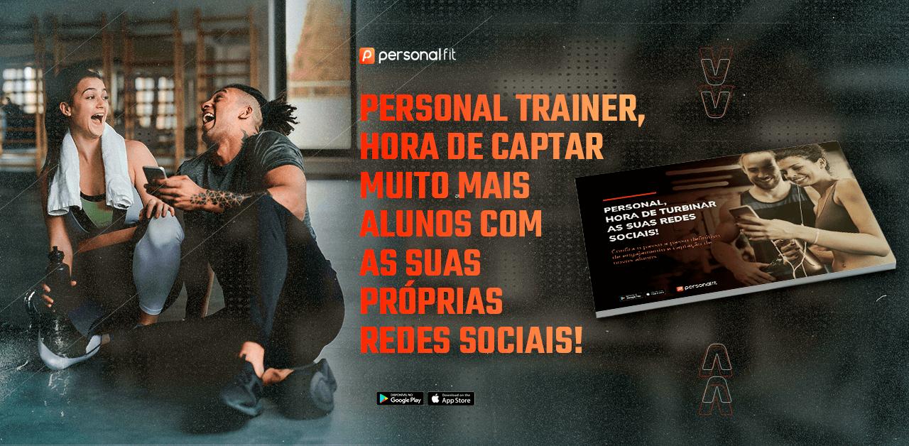 Banner Aplicativo para Personal Trainer
